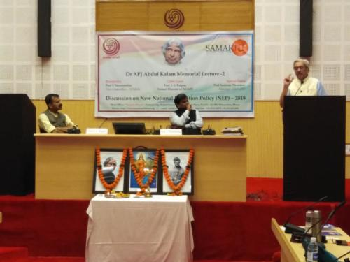 Discussion on NEP-2019 & Dr A.P.J. Abdul Kalam Memorial Lecture 2